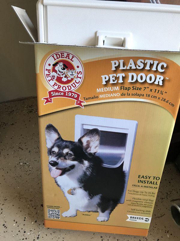 Medium Dog Door No Flap Pet Supplies In Alameda Ca Offerup