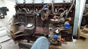 '68 Rare Pontiac OHC engine, flywheel bell housing