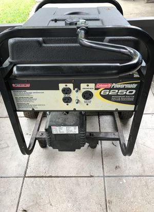 Generator for sale Coleman power mate