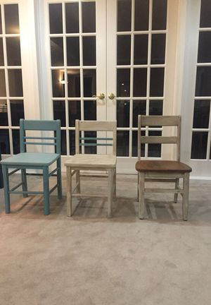 3 median chairs