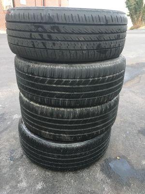 I have 4 per Michelin used tire 215/55/R17