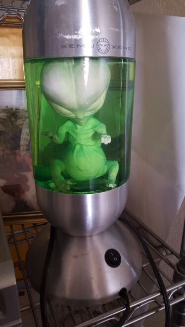 Alien Xemu Xeno lava lamp discontinued (Electronics) in Mesa, AZ ...