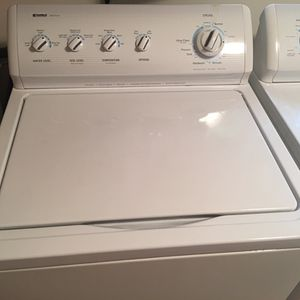 Kenmore washer and dryer. Electric, almost brand new condition, works great