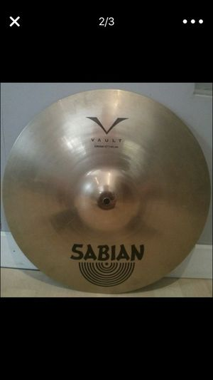"17"" Sabian crash cymbal"