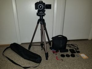 CANON 750D / T6i PHOTO AND VIDEO CAMERA