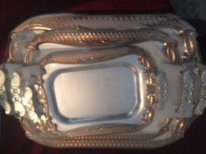 Brand new 3 piece tray set
