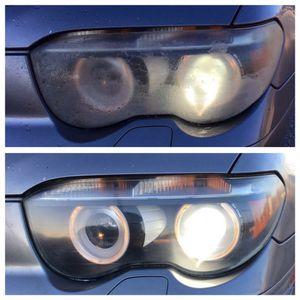Restored Headlights