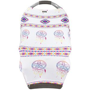 Brand new Baby Car Seat Cover Canopy Dreamcatcher- Very Breathable, Soft, Silky and Stretchy.