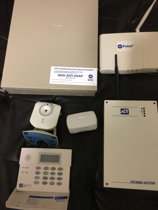 Adt Alarm Camera And Appliance Module Household In
