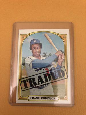 Frank Robinson Traded Baseball Card