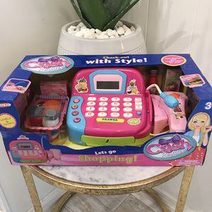BRAND NEW! Electronic Shopping Cash Register & Accessories TOY for sale  Jenks, OK