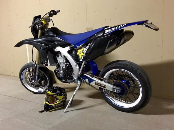 wr450 supermoto motorcycles in phoenix az. Black Bedroom Furniture Sets. Home Design Ideas