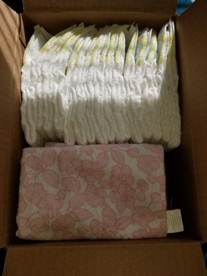 Diapers and blankets