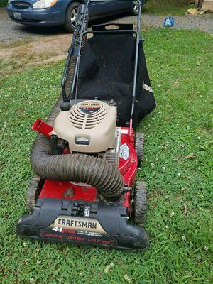 Craftsman lawn vacuum