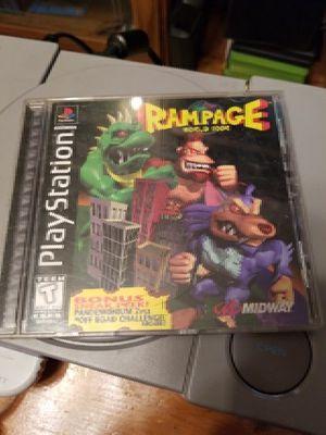 Rampage World Tour PS1