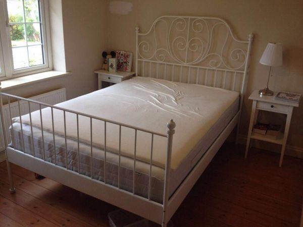 ikea leirvik queen bed frame - Queen Bed Frame Ikea
