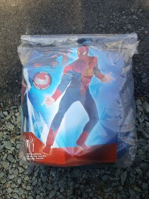 Adult Male Spiderman Costume