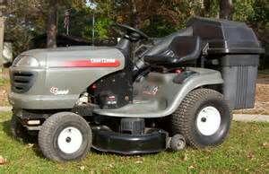 Craftsman Lt4000 Riding Lawnmower Amp Grass Catcher Home