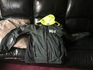 Large helly hasen jacket.