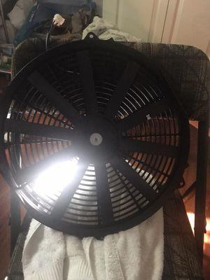 Universal fan ac or radiartor fan