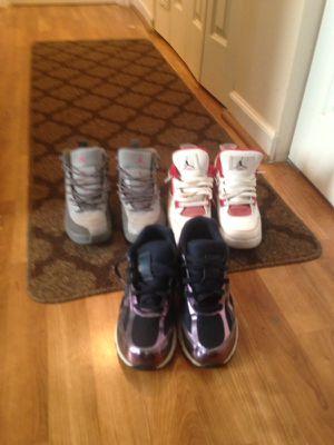 New balance and air Jordans