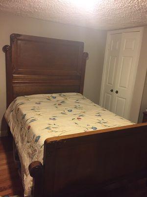 Antique design bed