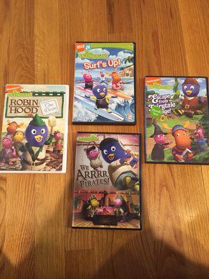 4 Backyardigans DVD