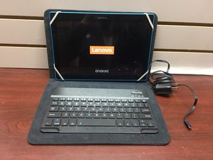 Lenovo Android Tablet w/ Keyboard & Case
