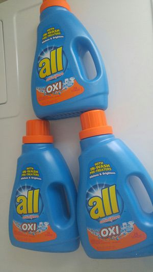 3 All oxi laundry bundle - not negotiable
