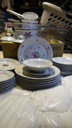 Stone ware dishes