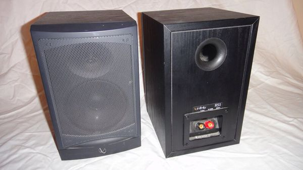 infinity reference speakers. infinity reference rs1 2-way bookshelf speakers