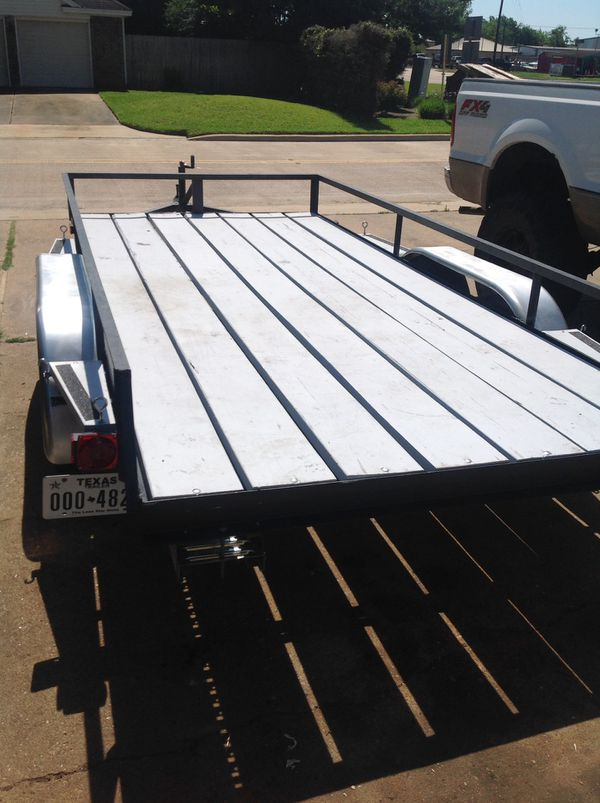 13\' x 6\' tandem axle trailer (Farming) in Houston, TX