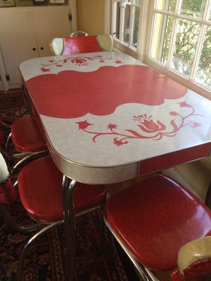 Vintage 1960's dining room table