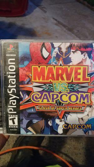 Marvel versus Capcom for PS1