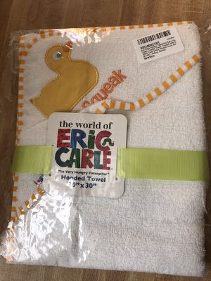 """Baby Hooded Towel, Bath Towel, 100% Terry Cotton Hooded Towel For Kids, 30""""x30"""""""