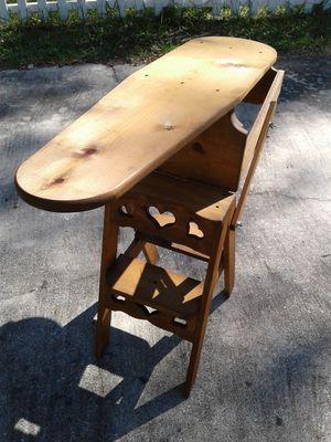 Vintage Ironing Board/Stepladder
