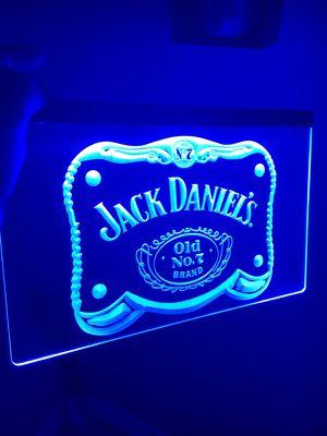 JACK DANIELS LOGO LED LIGHT SIGN. BRAND NEW!