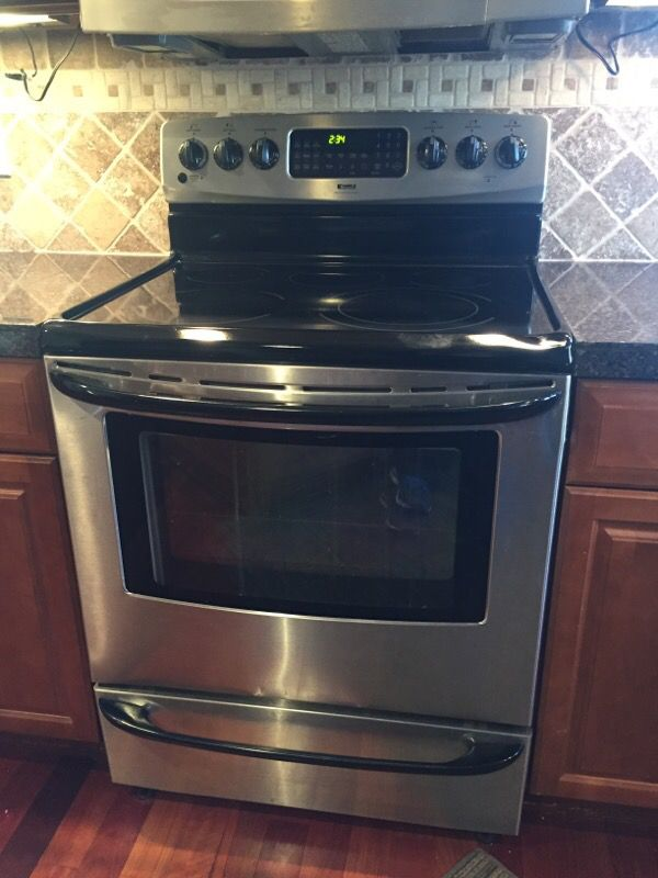 kenmore electric range appliances in marysville wa offerup. Black Bedroom Furniture Sets. Home Design Ideas