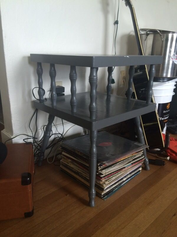 Shabby chic shelf end table furniture in seattle wa for Furniture tukwila wa