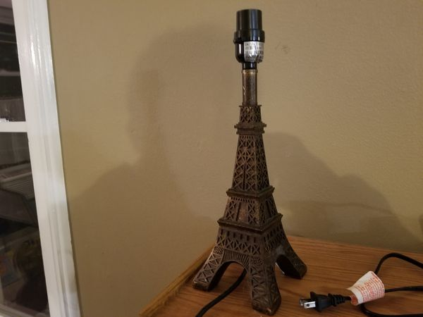 Eiffel tower table lamp household in goshen in offerup eiffel tower table lamp aloadofball Images