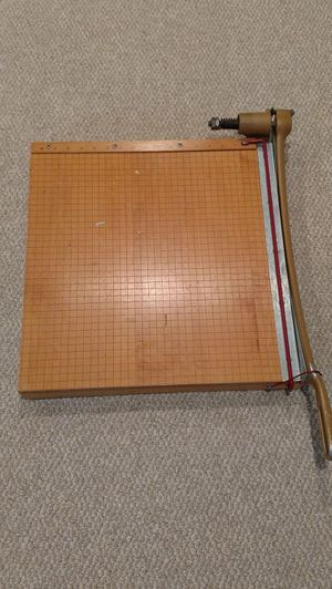 Vintage Wood INGENTO 1152 GUILLOTINE PAPER CUTTER/TRIMMER. 18""