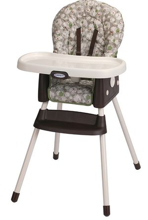 Graco high chair & booster