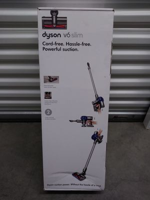 Dyson V6 slim cord free, hassle free