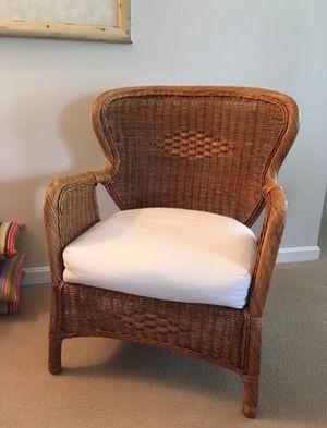 Wicker chair from Pier 1