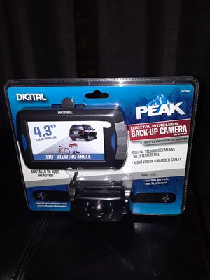 Back up camera -(new in box unopened)priced to sell!!