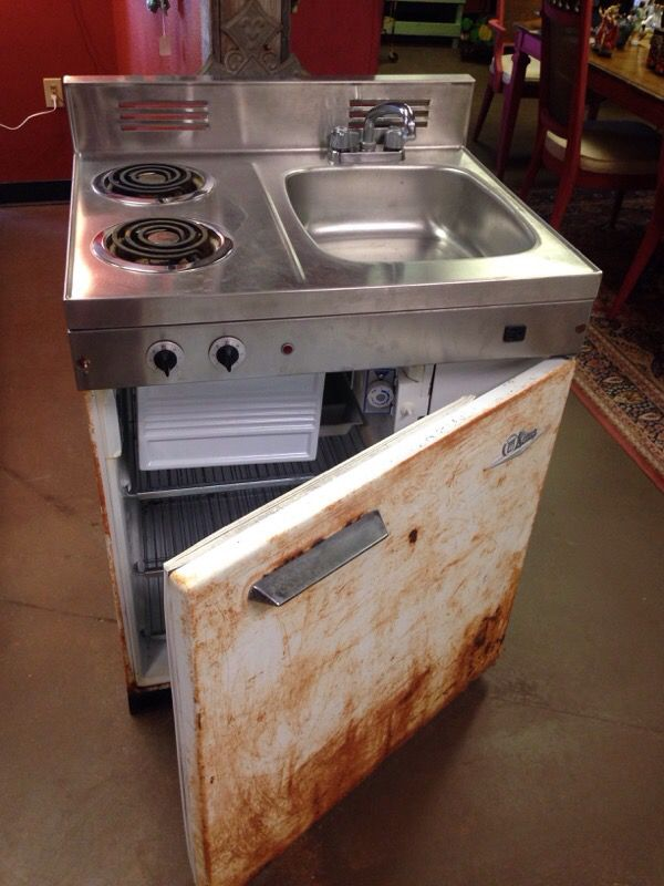 stove sink combo. antique stove/sink/refrigerator combo stove sink