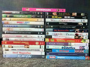 Selection of DVDs - $1 each