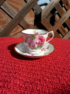 Royal Albert American Beauty Cup and Saucer Set