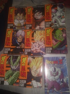 Dragon ball z Complete series dvds