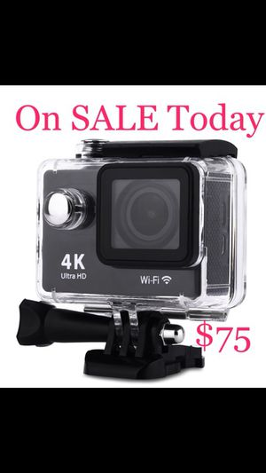 4K WIFI Sports Action Camera Ultra HD Waterproof DV Camcorder 12MP 170 Degree Wide Angle $75